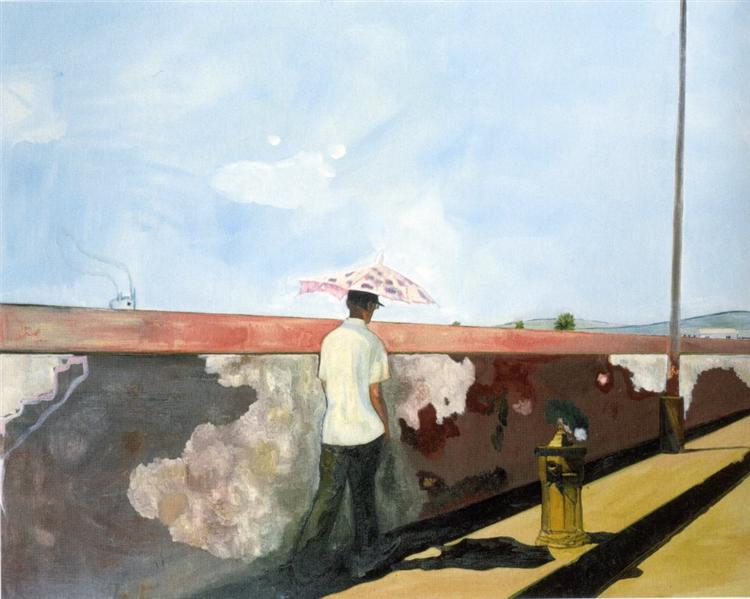 Lapeyrouse Wall, 2004 - Peter Doig