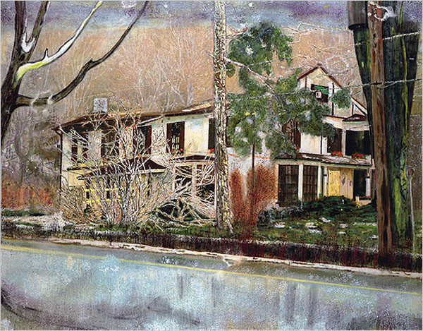 Pine House (Rooms for Rent), 1994 - Peter Doig