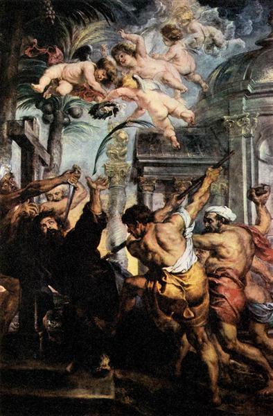 Martyrdom of St. Thomas, 1639 - Peter Paul Rubens