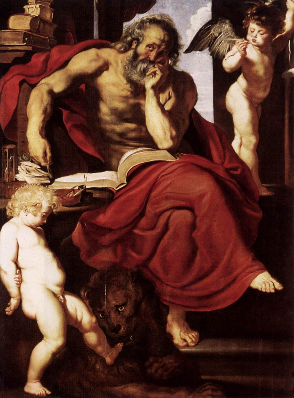 Image result for St. Jerome in His Hermitage