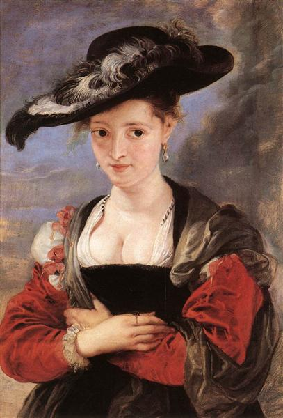 The Straw Hat, c.1625 - Peter Paul Rubens