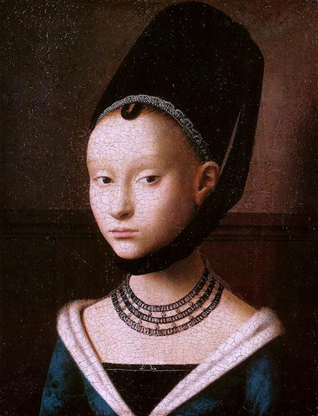 Portrait of a Young Girl, c.1470 - Petrus Christus