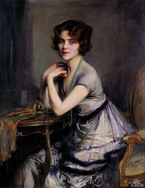 Portrait of a Lady, 1920 - Philip de Laszlo