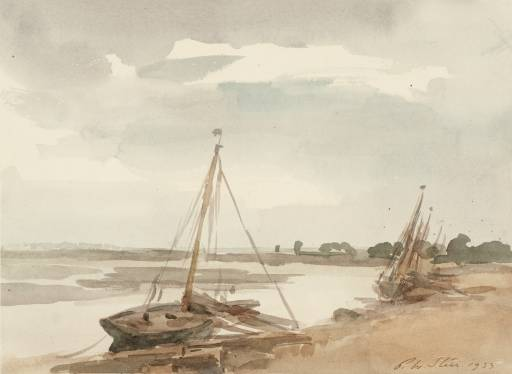On the River Blackwater, Maldon, 1933 - Філіп Вілсон Стер
