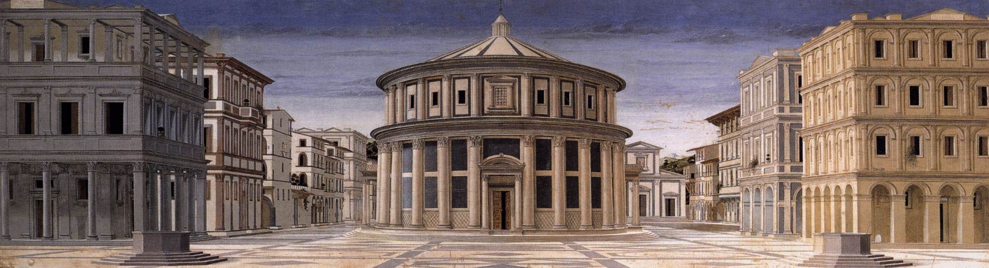 Ideal city piero della francesca for Architecture utopique 60