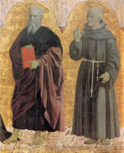 St. Andrew and St. Bernardino, 1444 - 1464 - П'єро делла Франческа