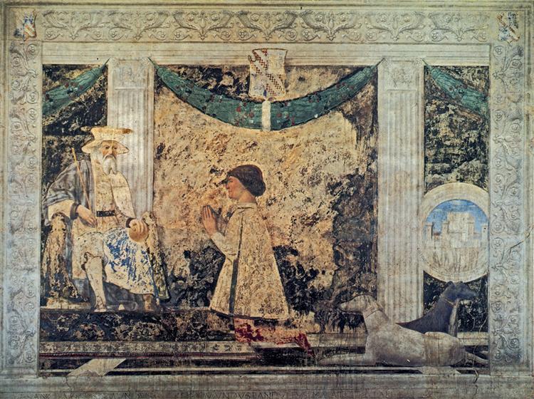 St. Sigismund and Sigismondo Pandolfo Malatesta, 1451 - Piero della Francesca