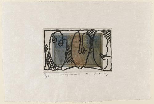 Monkey Business II, 1976 - Pierre Alechinsky