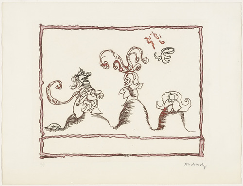 Untitled from The Test of the Title (Le Test du titre), 1966