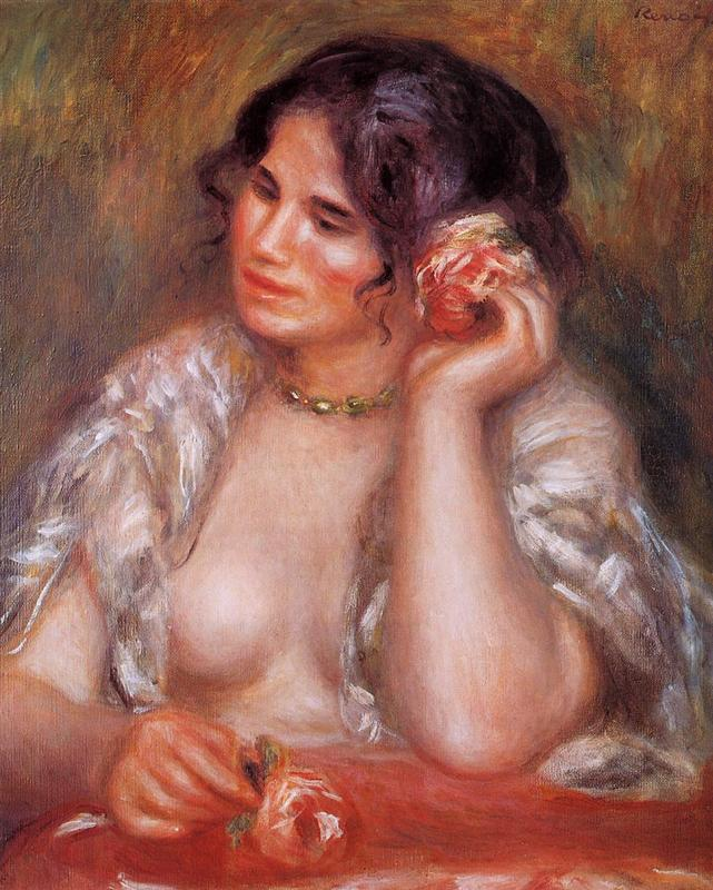 https://uploads2.wikiart.org/images/pierre-auguste-renoir/gabrielle-with-a-rose-1911.jpg!HalfHD.jpg