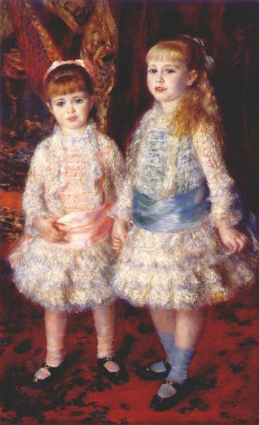 Pink and Blue - Pierre-Auguste Renoir