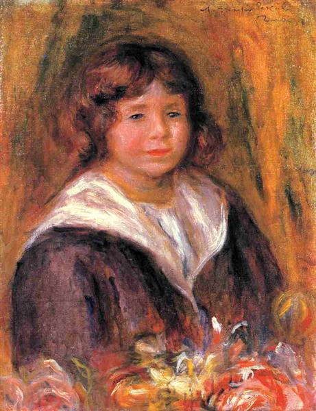 Portrait of a Boy (Jean Pascalis), 1916 - Pierre-Auguste ...