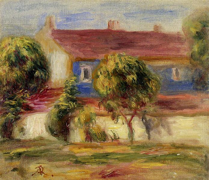 The Artist s House - Pierre-Auguste Renoir