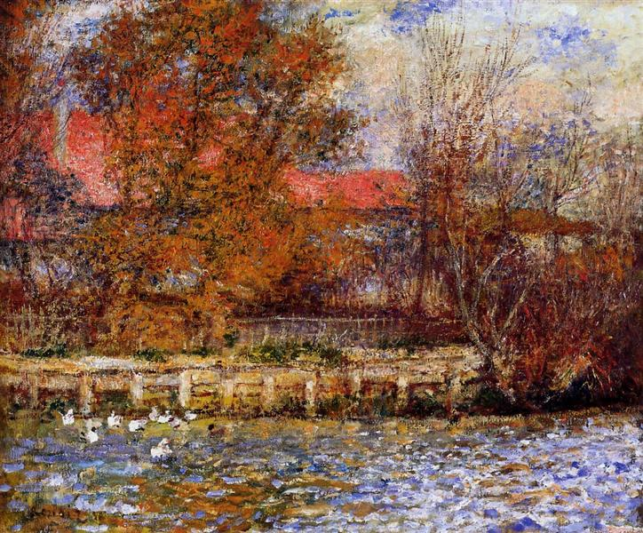 The Duck Pond, 1873 - Pierre-Auguste Renoir