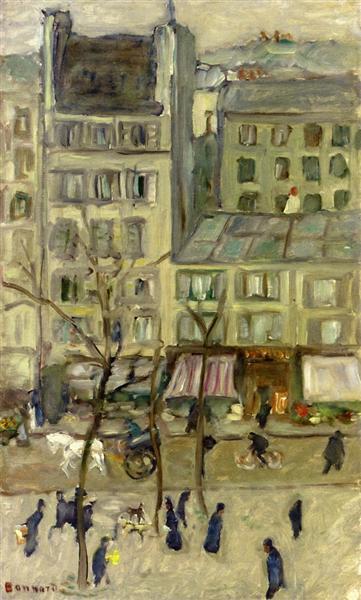 Boulevard des Batignolles - Pierre Bonnard