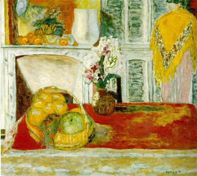 Corner of the Dining Room - Pierre Bonnard
