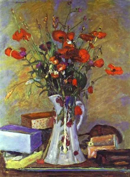 Poppies - Pierre Bonnard