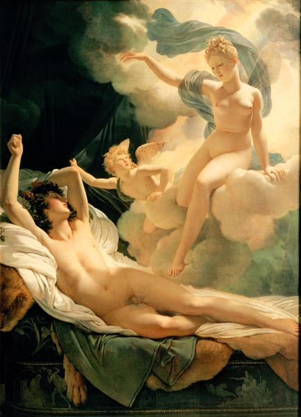 Morpheus and Iris, 1811 - Pierre Narcisse Guérin
