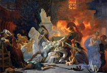The Death of Priam - Pierre Narcisse Guérin
