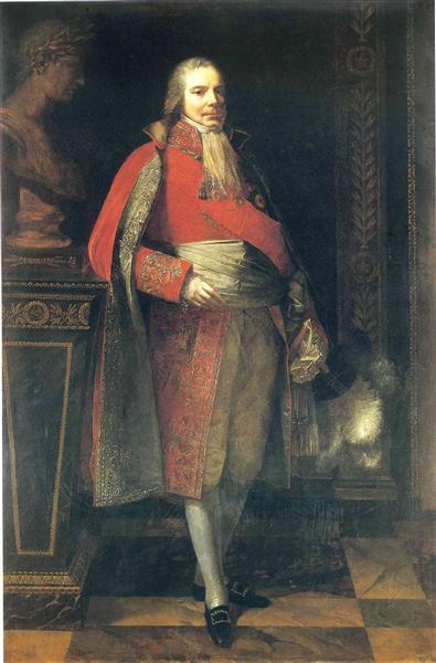 Portrait Of Charles Maurice De Talleyrand Perigord 1807