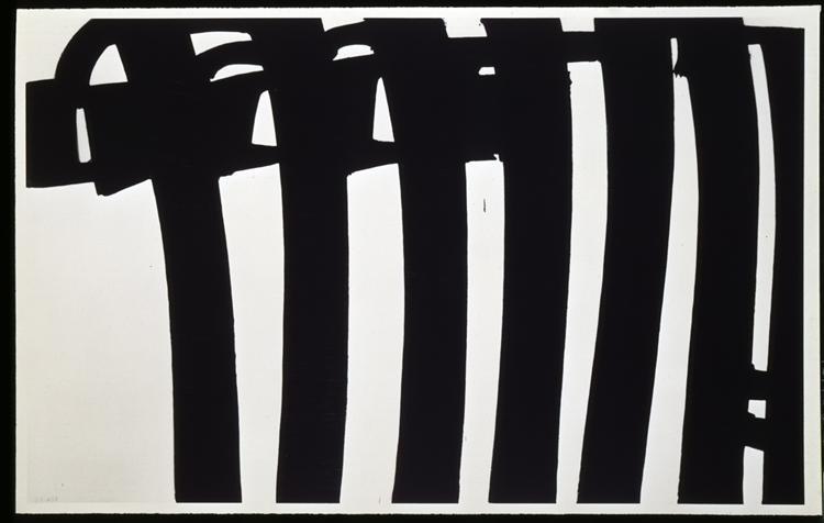 Peinture 202 x 327 cm, 17 janvier 1970, 1970 - Pierre Soulages