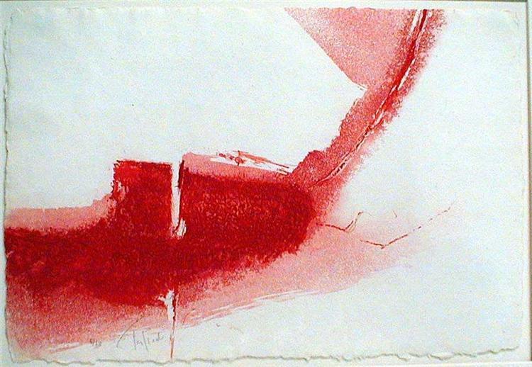 Chemin vif, 1978 - Pierre Tal Coat