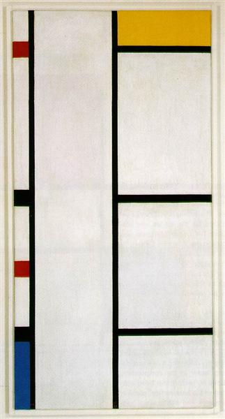 Composition No. III Blanc-Jaune, 1935 - 1942 - Piet Mondrian