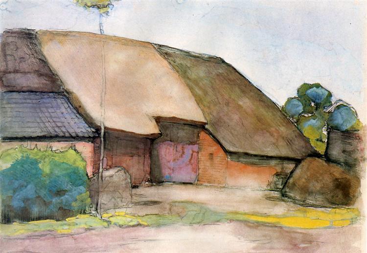 Farm Sun, 1904 - Piet Mondrian