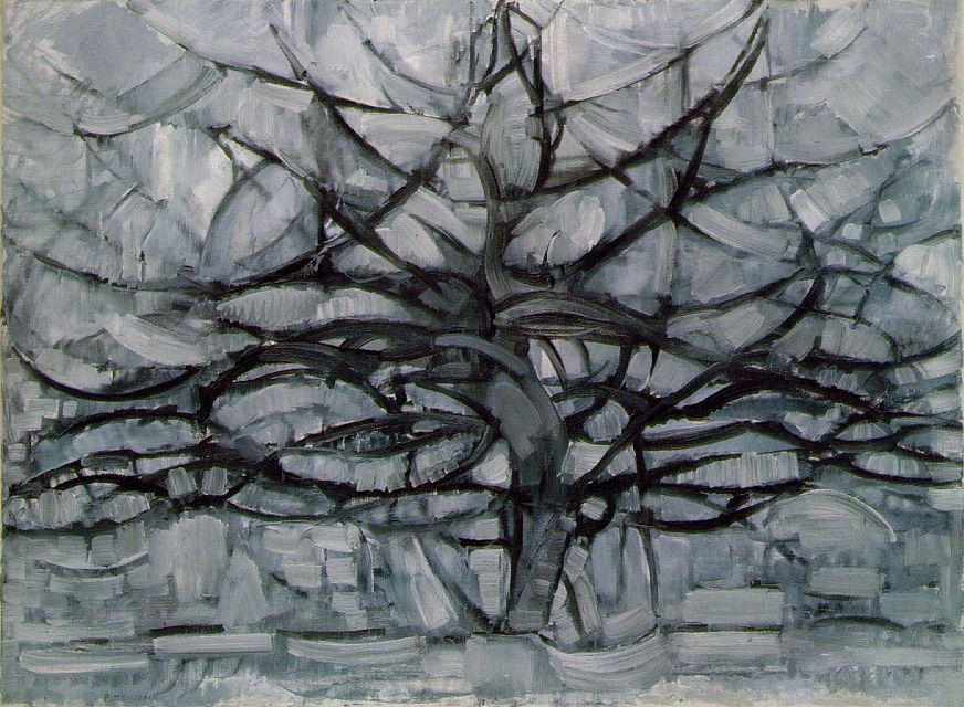The Gray Tree, Piet Mondrian (1911)