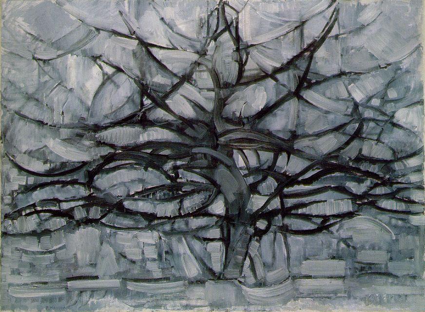 The Gray Tree, Piet Mondrian (1911)