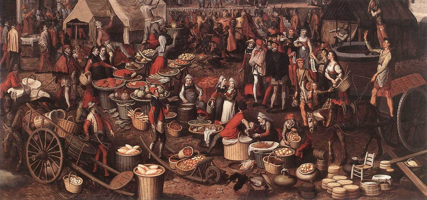 Market Scene, 1550