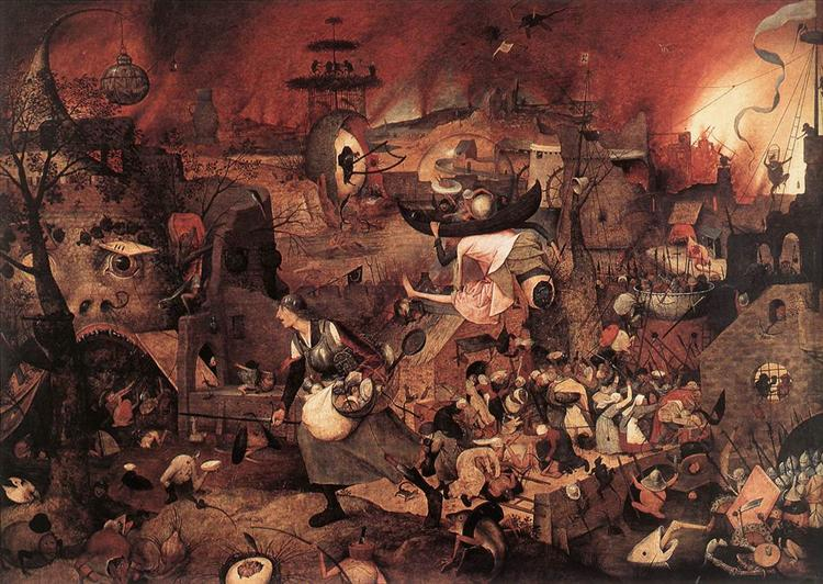 Dulle Griet (Mad Meg), 1564 - Pieter Bruegel the Elder