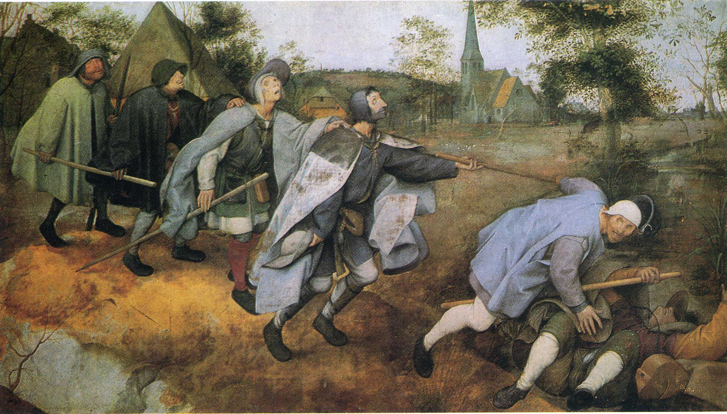 Parable of the Blind, 1568
