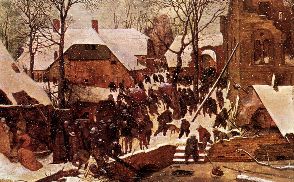 The Adoration of the Kings in the Snow, 1557