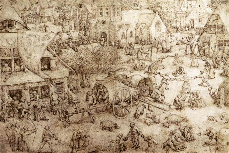 The Fair at Hoboken, 1559 - Pieter Brueghel l'Ancien