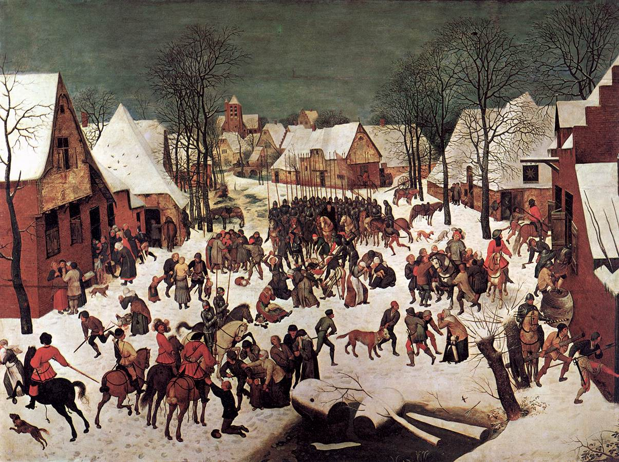 The Massacre of the Innocents, 1565-1566