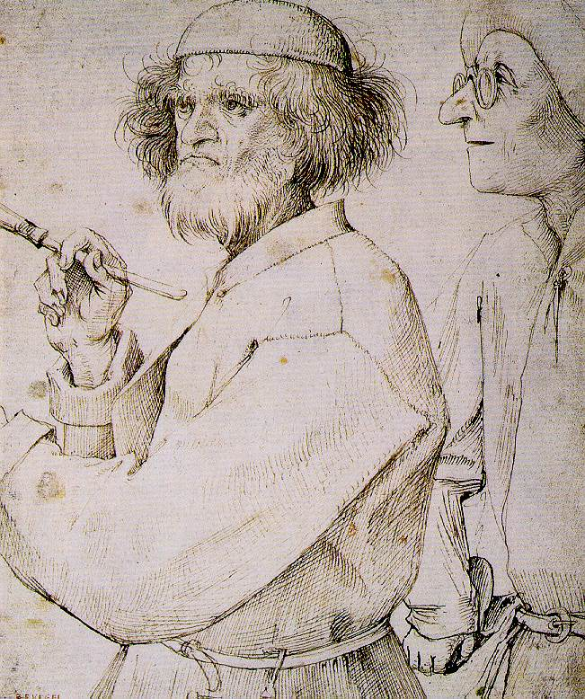 The Painter and the Art Lover, 1565