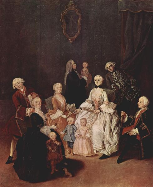 A Patrician Family - Pietro Longhi