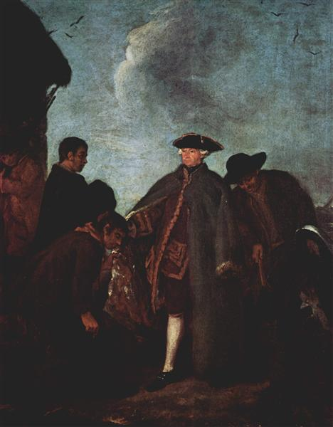 The Arrival of the Nobleman - Pietro Longhi
