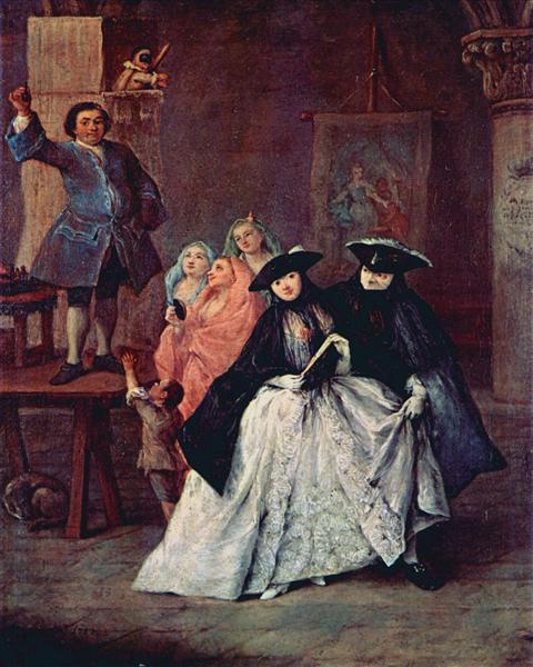 The Charlatan, 1757 - Pietro Longhi