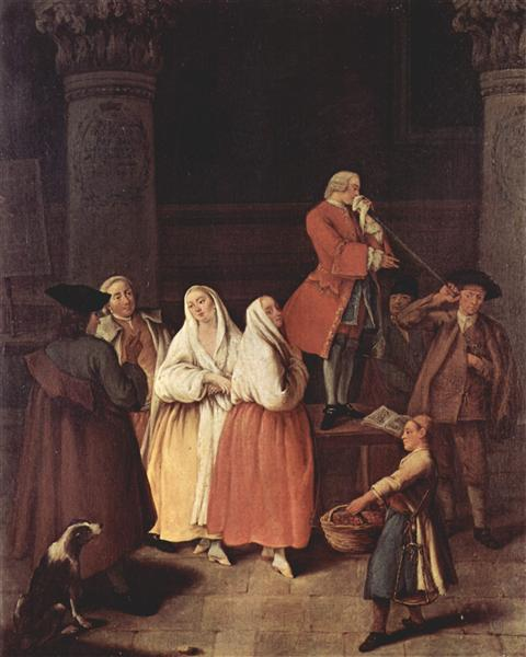 The Fortune Teller - Pietro Longhi