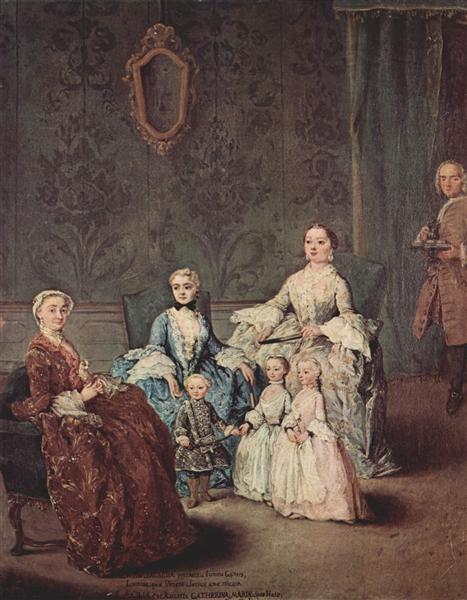 The Sagredo Family - Pietro Longhi