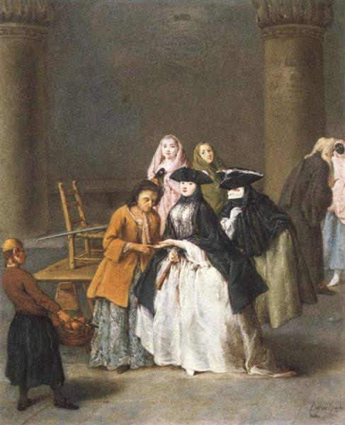 A Fortune Teller at Venice - Pietro Longhi