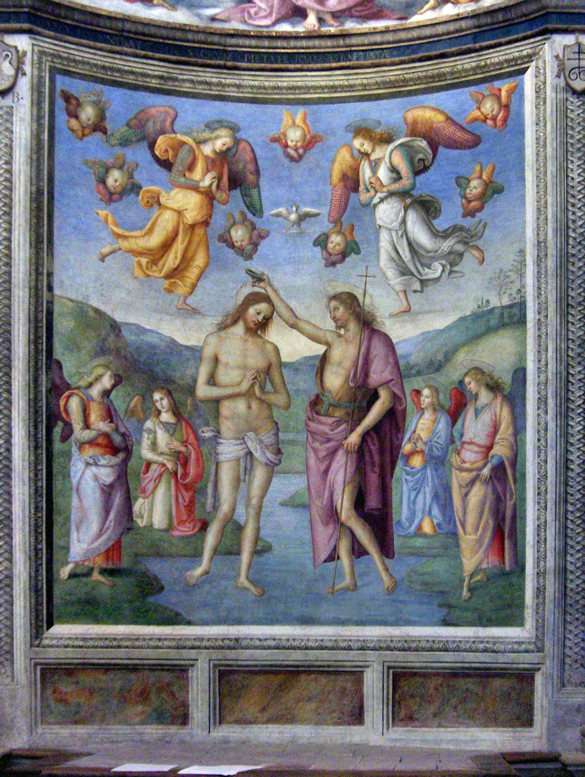 baptism of jesus 1507 pietro perugino wikiart org