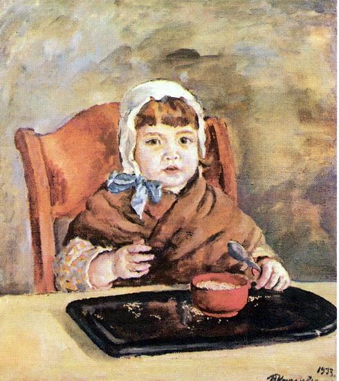Katya with grains, 1933