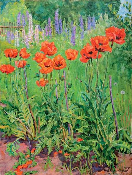 Poppies, 1955 - Pjotr Petrowitsch Kontschalowski