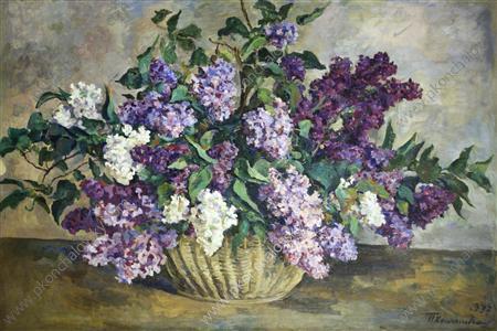 Still Life. Lilacs., 1937