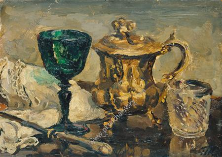 Still Life. The green glass., 1931