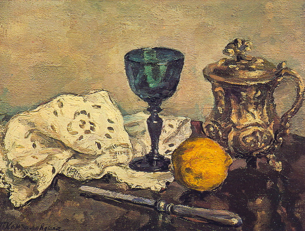 Still Life. The green glass., 1933