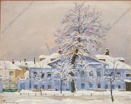 The tree in frost, 1933